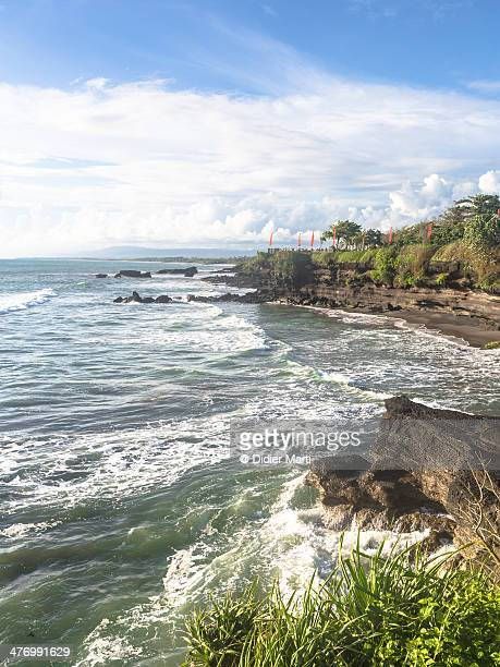 Tanah Lot coast in Bali