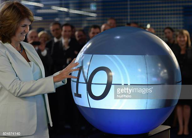 Tanaiste and Minister for Social Protection Joan Burton TD pictured in IBM buildings as the IBM Company opens European Digital Sales Center to...