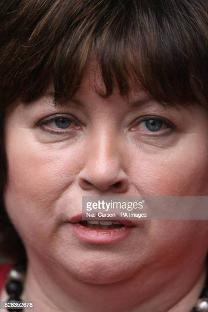 Tanaiste Mary Harney leaves the Mahon Tribunal at Dublin castle Thursday 23 February 2006 The tribunal is investigating a controversial vote by...