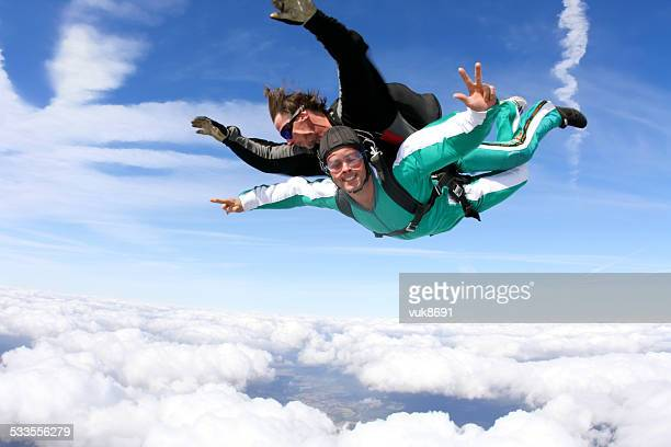 Tándem skydiving