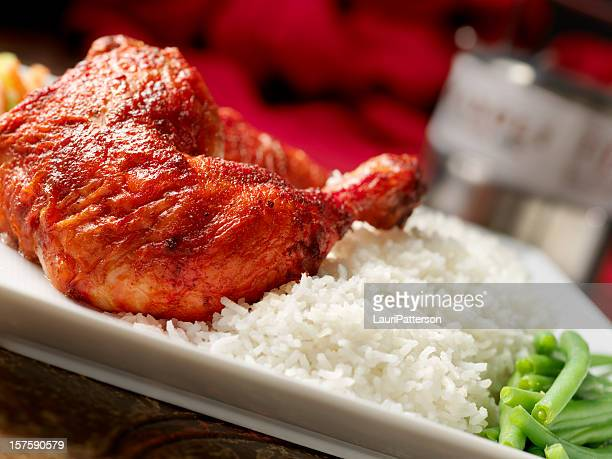 Tandoori Chicken with Basmati Rice
