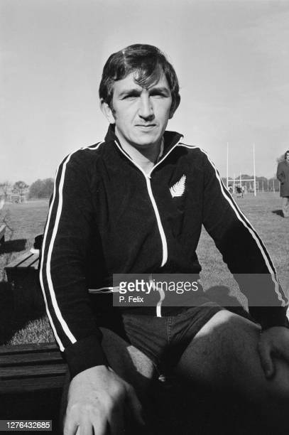 Tane Norton of the New Zealand rugby team, aka the All Blacks, UK, 24th October 1972.
