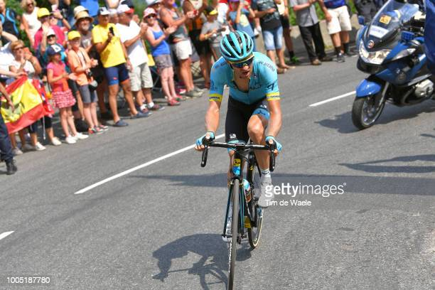Tanel Kangert Estonia and Astana Pro Team /during the 105th Tour de France 2018, Stage 17, a 67km stage from Bagneres-de-Luchon to Saint-Lary-Soulan...