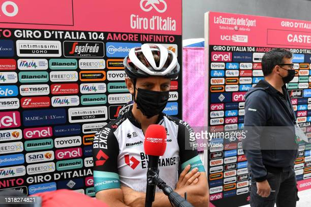 Tanel Kangert of Estonia and Team BikeExchange at start during the 104th Giro d'Italia 2021, Stage 9 a 158km stage from Castel di Sangro to Campo...