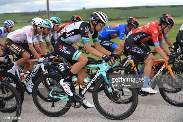 Tanel Kangert of Estonia and Team BikeExchange during the 104th Giro d'Italia 2021, Stage 8 a 170km stage from Foggia to Guardia Sanframondi 455m /...