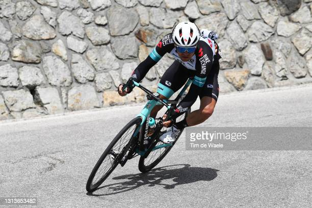 Tanel Kangert of Estonia and Team BikeExchange during the 44th Tour of the Alps 2021, Stage 3 a 162km stage from Imst to Naturns-Naturno /...