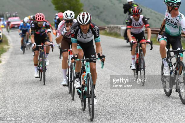 Tanel Kangert of Estonia and Team BikeExchange in breakaway during the 104th Giro d'Italia 2021, Stage 9 a 158km stage from Castel di Sangro to Campo...