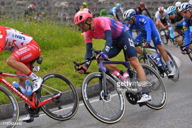 Tanel Kangert of Estonia and Team EF Education First / during the 102nd Giro d'Italia 2019 Stage 18 a 222km stage from Valdaora to Santa Maria di...