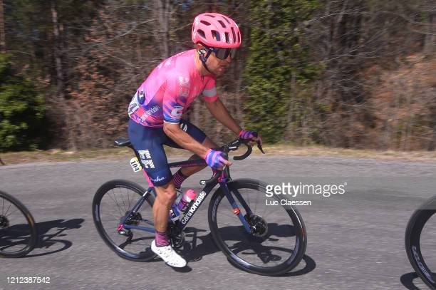 Tanel Kangert of Estonia and Team Ef Education First / during the 78th Paris - Nice 2020 - Stage 7 a 166,5km stage from Nice to Valdeblore La...
