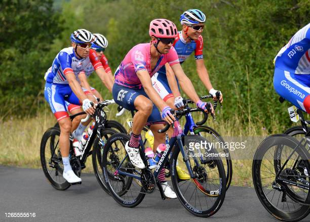 Tanel Kangert of Estonia and Team EF Education First / Rein Taaramae of Estonia and Team Total Direct Energie / Matthieu Ladagnous of France and Team...