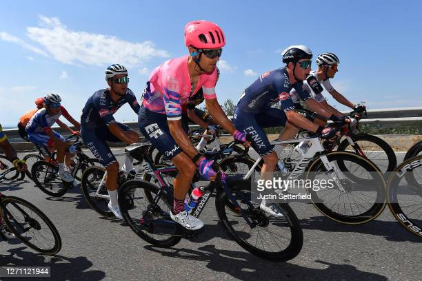 Tanel Kangert of Estonia and Team EF Pro Cycling / during the 55th Tirreno-Adriatico 2020, Stage 1 a 133km stage from Lido di Camaiore to Lido di...