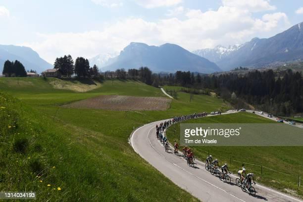 Tanel Kangert of Estonia, Cameron Meyer of Australia, Mikel Nieve Ituralde of Spain, Nicholas Schultz of Australia and Team BikeExchange & The...