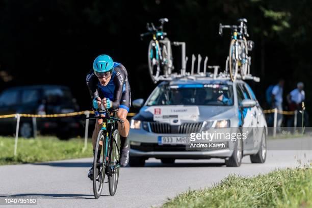 Tanel Kangert of Estonia during the Men Elite Individual Time Trial of UCI 2018 Road World Championships on September 26, 2018 in Innsbruck-Tirol,...
