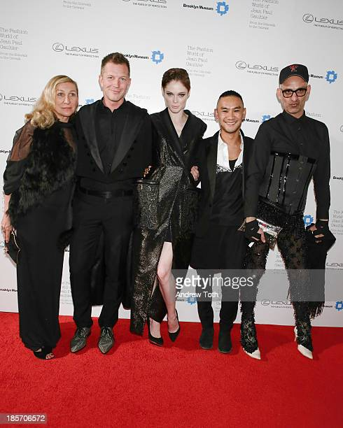 Tanel Thoai Niradeth Coco Rocha ThierryMaxime Loriot and guest attend the VIP reception and viewing for The Fashion World of Jean Paul Gaultier From...