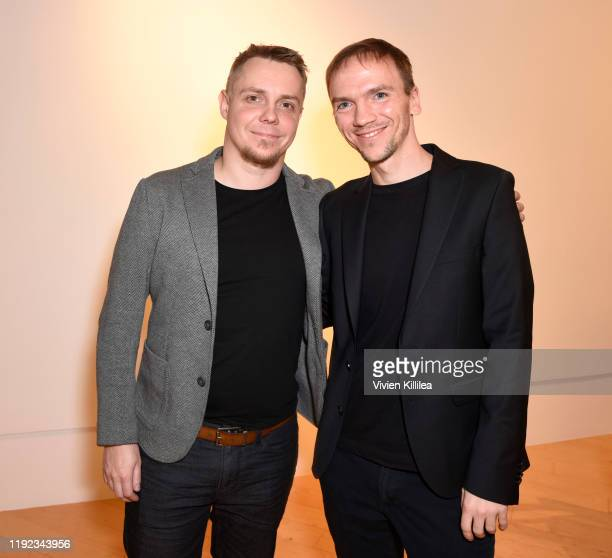 Tanel Toom and Jan Komasa attend Shortlisted Best International Feature Film Panel at the 31st Annual Palm Springs International Film Festival on...