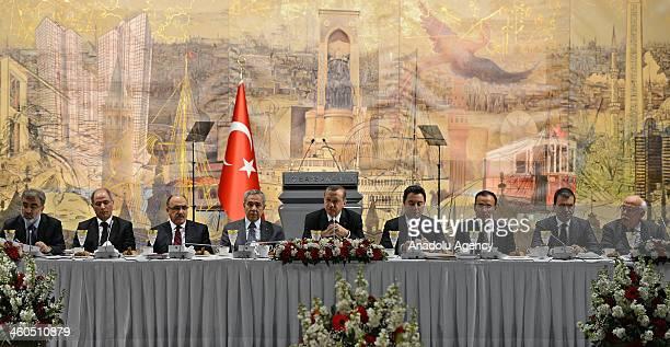 Taner Yildiz Turkish Energy and Natural Resources Minister Efkan Ala Turkish Interior Minister Besir Atalay Turkish Deputy Prime Minister Bulent...