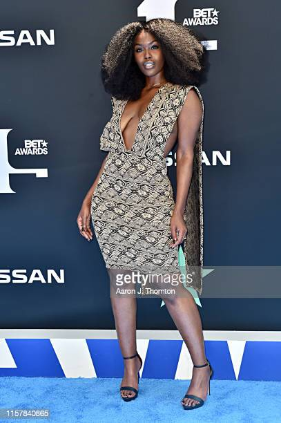 Tanerélle attends the 2019 BET Awards on June 23 2019 in Los Angeles California