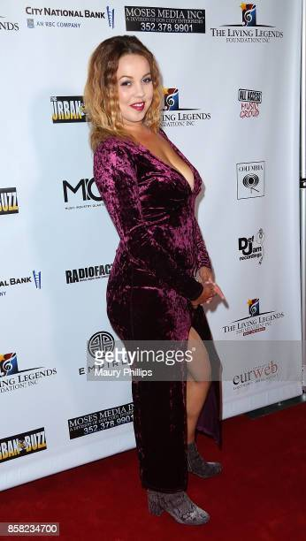 Tanesha Fields arrives at The Living Legends Foundation's 21st annual awards gala at Taglyan Cultural Complex on October 5 2017 in Hollywood...