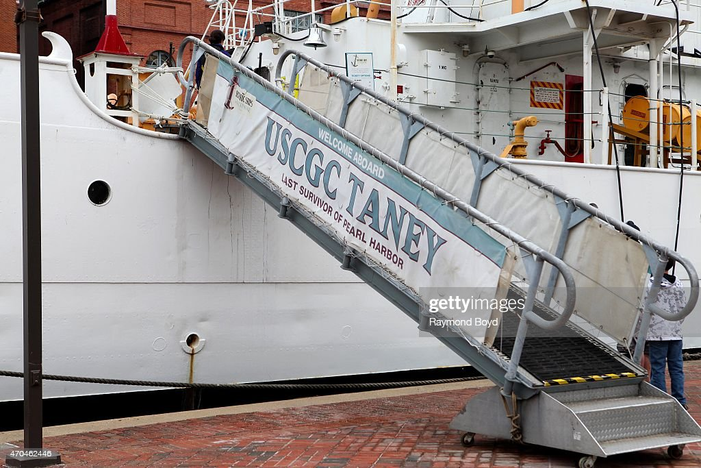 USCGC Taney The Last Survivor Of Pearl Harbor On April 9 2015 In Baltimore  Maryland