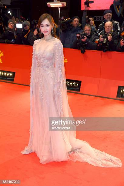 Tang Yan aka Tiffany Tang attends the 'Django' Premiere during the 67th Berlinale International Film Festival on February 9 2017 in Berlin Germany