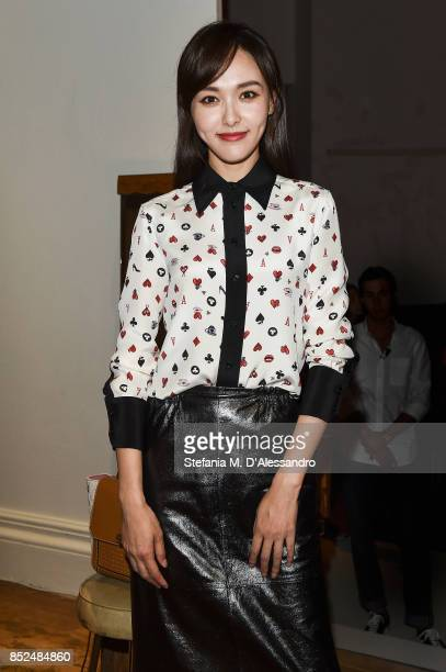Tang Yan attended the Bally SS18 Presentation in Milan 23rd September 2017 Italy
