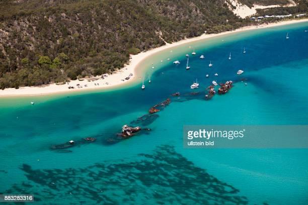 Tangalooma Wrecks Moreton Island Brisbane Australia