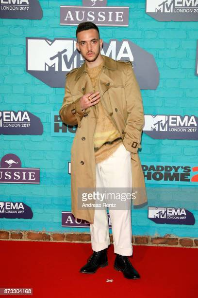 C Tangana attends the MTV EMAs 2017 held at The SSE Arena Wembley on November 12 2017 in London England