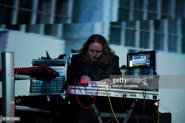 Tangerine Dream performon stage at Volksbuhne in Berlin Germany on November 19 2017