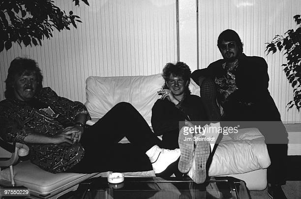 Tangerine Dream poses for a portait in Minneapolis Minnesota on June 16 1986