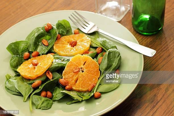 Tangerine Spinach Salad