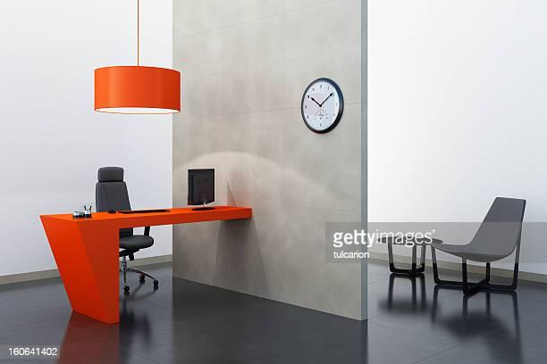 Tangerine Tango Office Zimmer