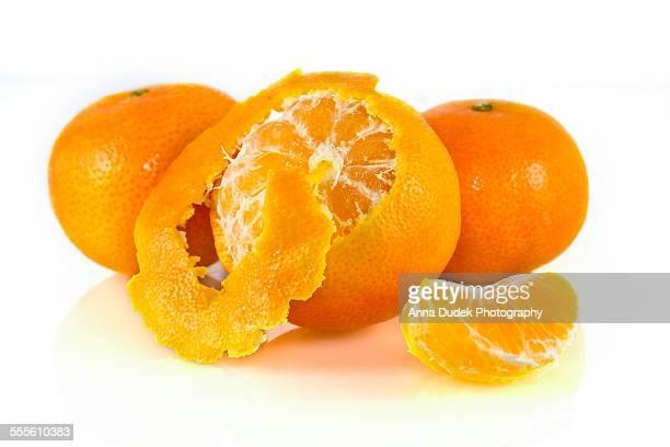 Tangerines closeup