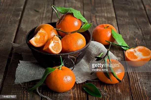 tangerines - anna verdina stock photos and pictures
