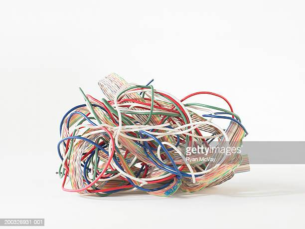 Tangled wires and cables