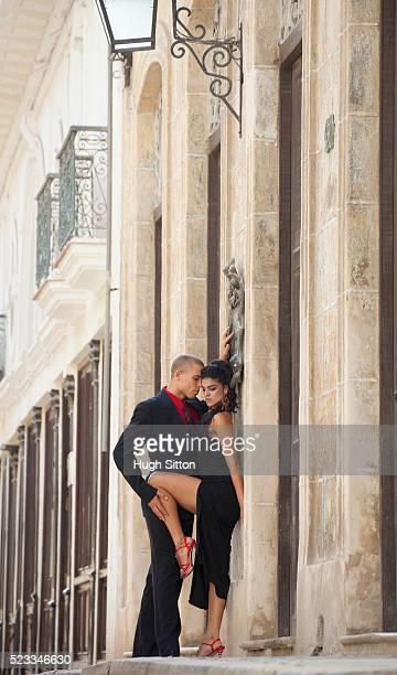 tango dancers, havana. cuba - hugh sitton stock pictures, royalty-free photos & images