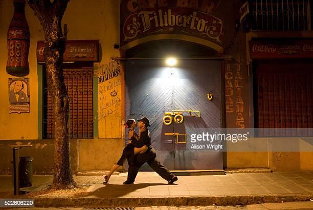 Tango Dancers in La Boca