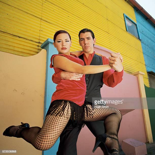 Tango Dancers, La Boca, Buenos Aires, Argentina