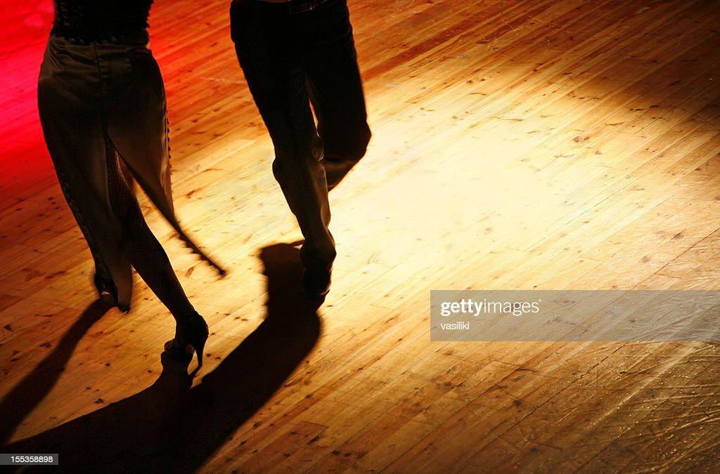 Tango dancers : Stock Photo