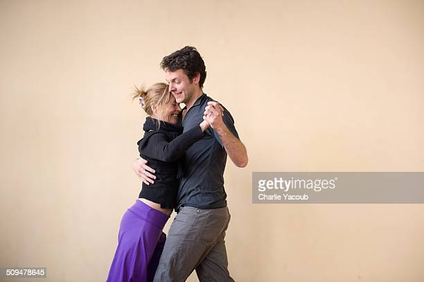 tango dancers - ballroom dancing stock pictures, royalty-free photos & images