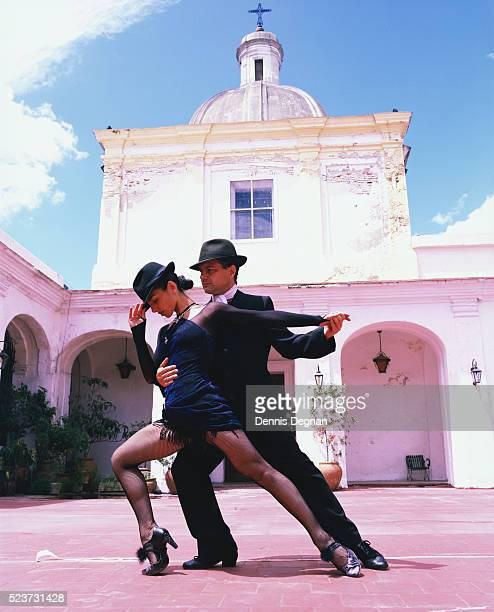 tango dancers - argentina traditional clothing stock photos and pictures