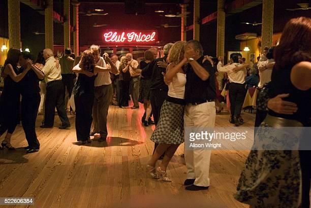 Tango Dancing in Milonga