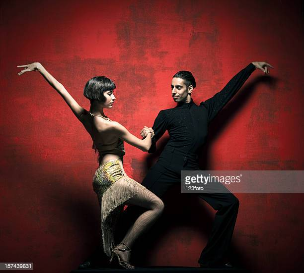 tango - ballroom dancing stock pictures, royalty-free photos & images