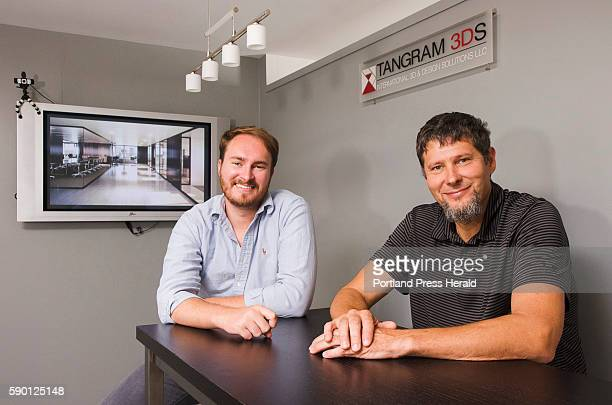 Tangram 3DS Director of Visualization Jared Foley and CEO/Managing Director Stefan Vittori sit in the 3D visualization and interactive media company...