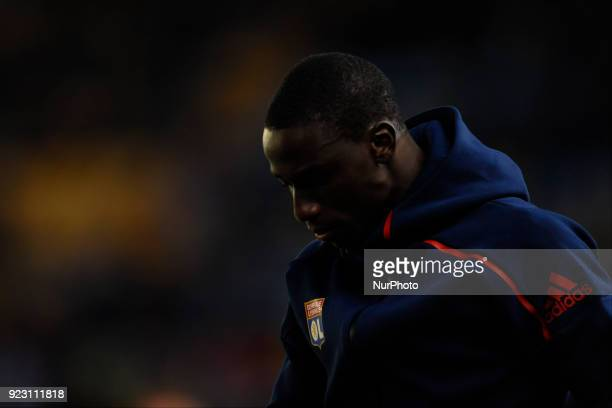 Tanguy Ndombele during the match between Villarreal CF against Olympique of Lyon Round of 32 2nd leg of UEFA Europa League at Ceramica stadium...