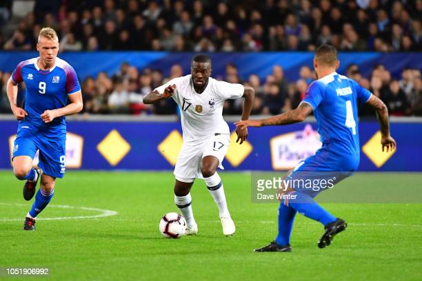 Tanguy Ndombele of France during the international friendly match between France and Iceland on October 11 2018 in Guingamp France