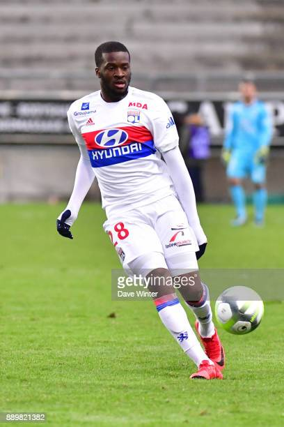 Tanguy Ndombele of Lyon during the Ligue 1 match between Amiens SC and Olympique Lyonnais at Stade de la Licorne on December 10 2017 in Amiens France