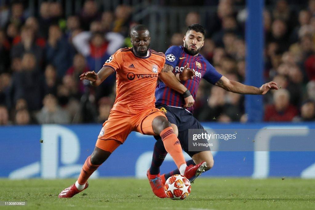 "UEFA Champions League""FC Barcelona v Olympique Lyonnais"" : News Photo"