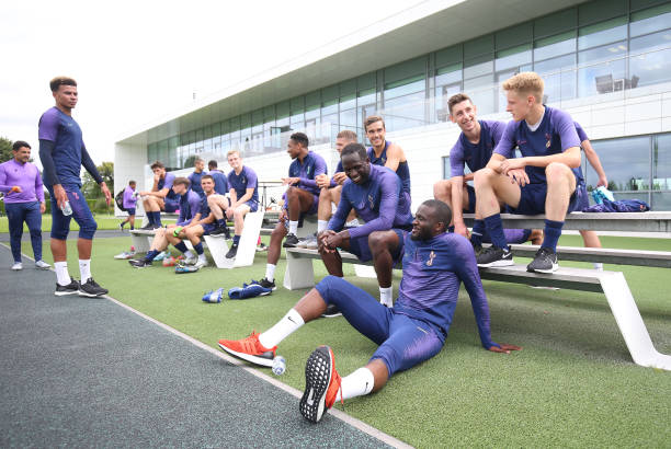 GBR: Tottenham Hotspur Training Session