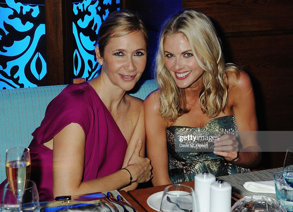 Tania Bryer and Donna Air attend the grand opening of Mazagan Beach Resort on October 30, 2009 in El Jadida, Morocco. Kerzner International have launched a brand new 500-room tourist destination in Morocco boasting an 18-hole golf course designed by Gary Player, a 7km stretch of beach, luxury boutiques, eight restaurants, casino, nightclub, a spa and one of the largest conference centres in the region.