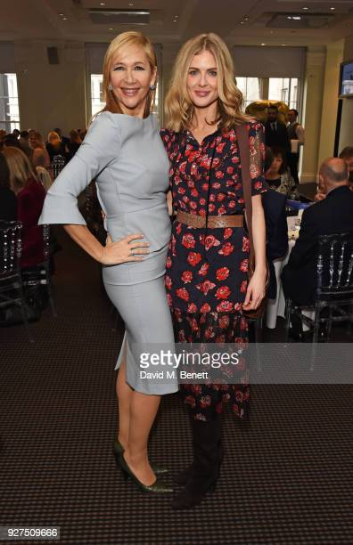 Tania Bryer and Donna Air attend Turn The Tables 2018 hosted by Tania Bryer and James Landale in aid of Cancer Research UK at BAFTA on March 5 2018...